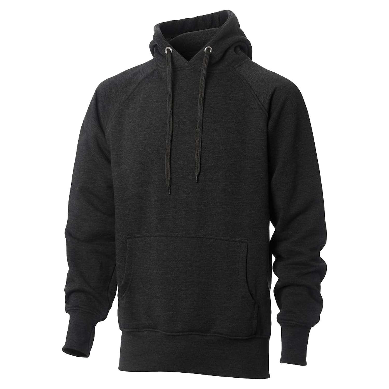 Hurricane - Campus herre hoodie - Koksgrå - Størrelse L