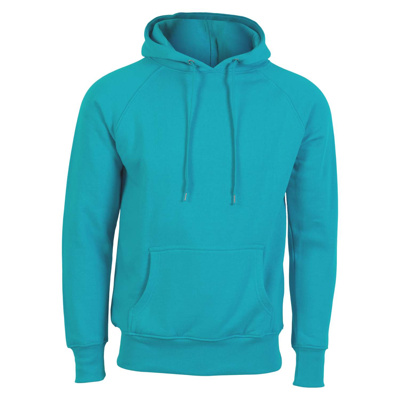 Hurricane - Campus herre hoodie - Turkis - Størrelse 4XL