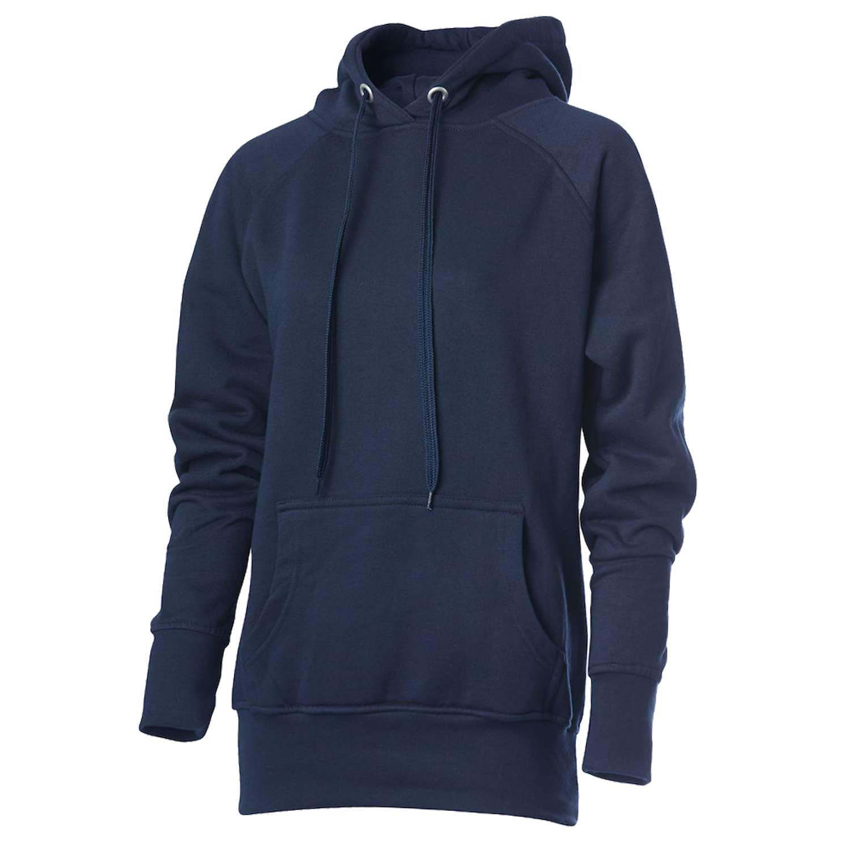 Hurricane - Campus dame hoodie - Navy - Størrelse XL