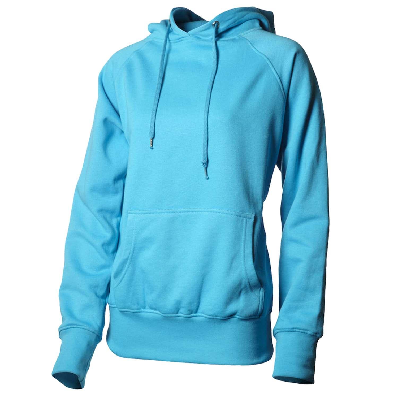 Hurricane - Campus dame hoodie - Turkis - Størrelse 3XL