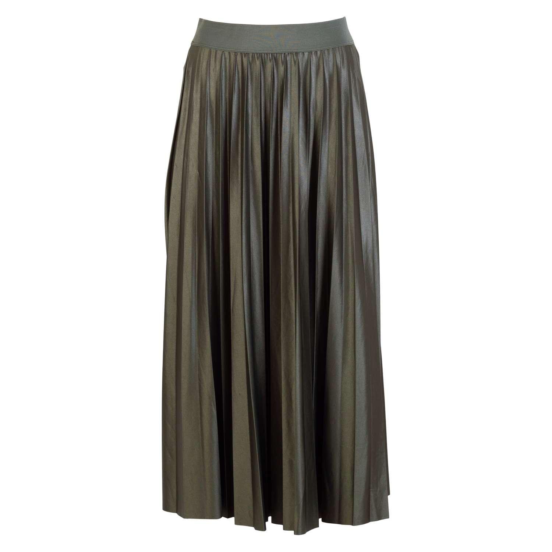 Vila - Dame plissé nederdel - Grøn - Størrelse S