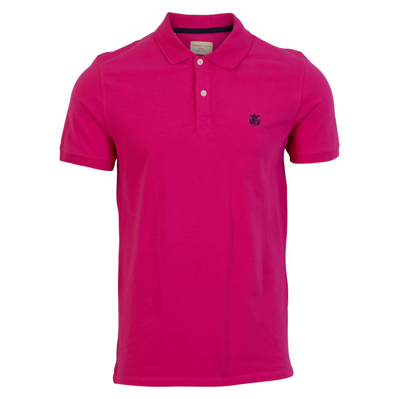 Selected - Herre Polo - Pink - Størrelse S