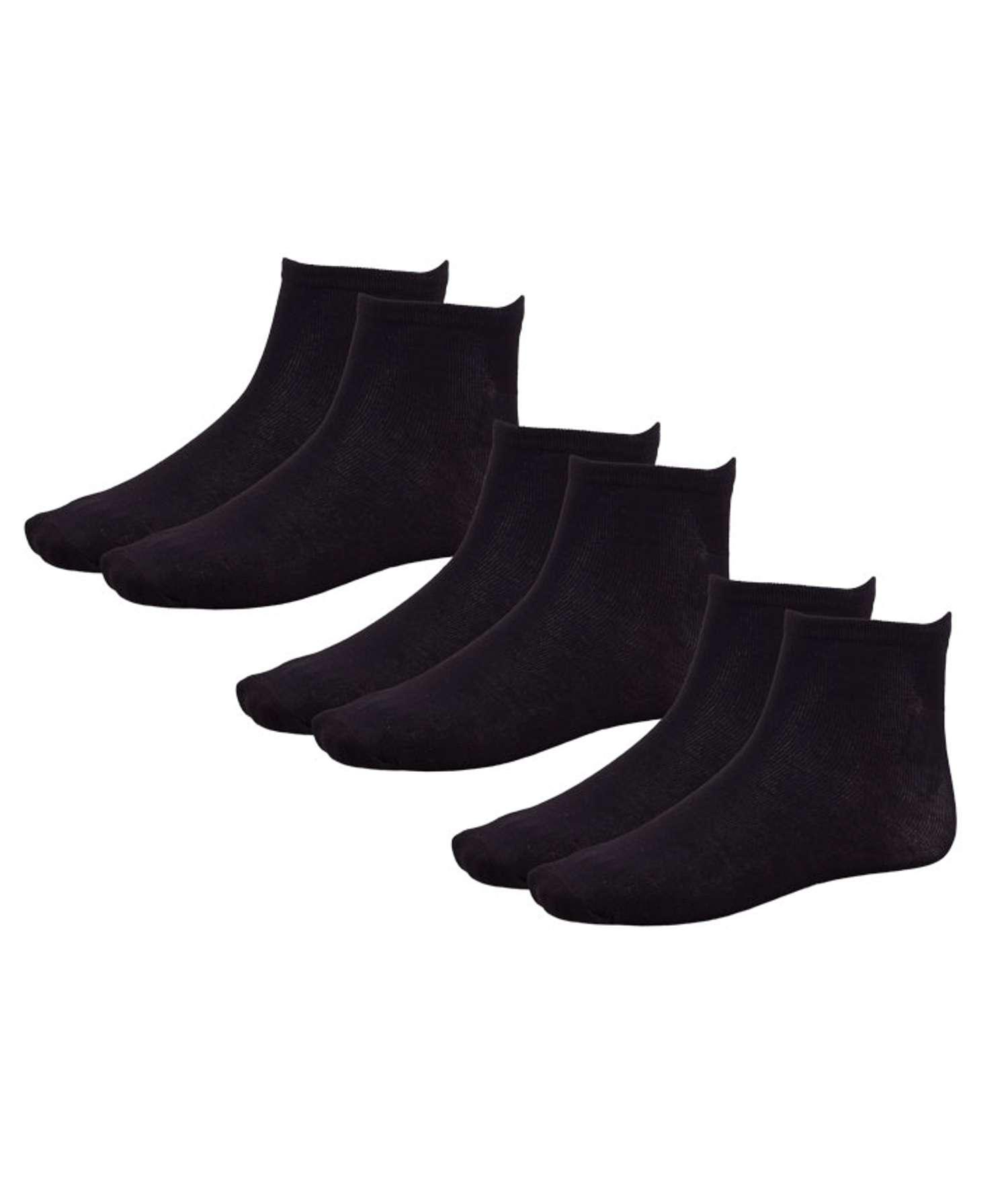 Kopenhaken - Berk herre bambus sokker - Sort - Størrelse 35/38