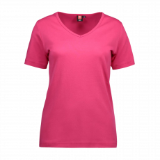 ID - Dame t-shirt - Pink