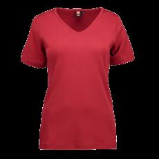 ID - Dame t-shirt - Rød