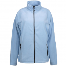 ID - Dame microfleece trøje - Lyseblå
