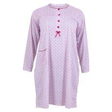 Roseline - +Size natkjole med lomme - Lyserød