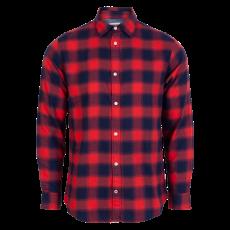 JACK & JONES - Skjorte - Rød