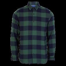 JACK & JONES - Herre skjorte - Grøn