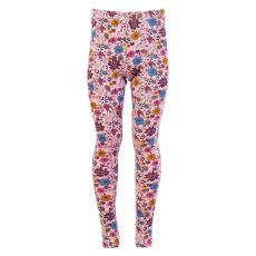 Guppy - Leggings med blomster print - Rosa