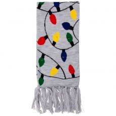 Angro - Halstørklæde m. LED lys - Grå