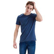 Blend - Herre t-shirt - Mørkeblå