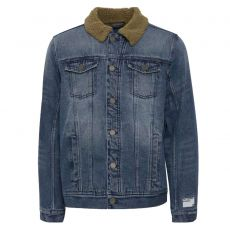 Blend - +Size herre denim jakke - Denim