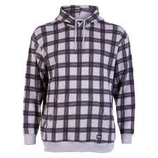 Blend - +Size herre hoodie - Grå