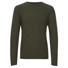 Blend - +Size herre pullover - Army
