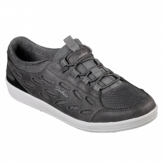 Skechers - Madison ave-my district dame sneakers - Grå