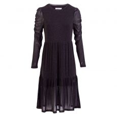ChaCha - Glimmer mesh kjole - Sort