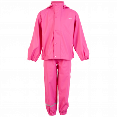 Steenholt outerwear - Moss børne regntøj - Lyserød