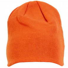 Steenholt Kids - Alcor børne hue m. uld - Brændt orange