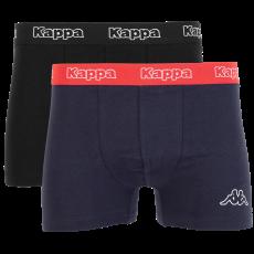 Kappa - Herre boxer 2-pak - Sort/Navy