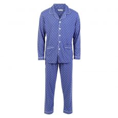 Paris Herre - Herre pyjamas sæt - Blå