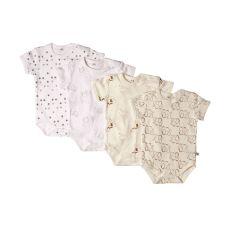 Pippi - Baby kortærmet body 4-pak - Off white