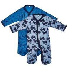 Brands4kids - Baby natdragt 2-pak - Blå