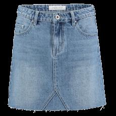 Hailys - Dame denim nederdel - Denim