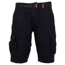Loaded Mens - Savanna herre cargo shorts - Sort