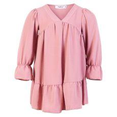 Happy Star - Pige kjole - Rosa