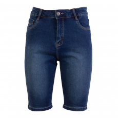 Steenholt Female - Grace dame stretch senim shorts - Navy
