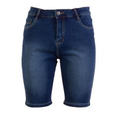 Steenholt Female+ - Grace dame denim shorts +Size - Navy