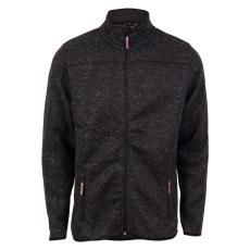 Steenholt Male - Ocean herre fleece jakke - Mørkegrå