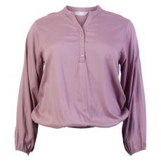 Vanting - Dame +size bluse - Rosa