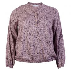 Vanting - Dame +size bluse - Støvet rosa