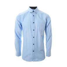 Carnét - Keon Oxford herre skjorte - Lyseblå