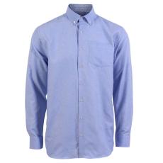 Carnét - Erma herre langærmet skjorte - Lyseblå