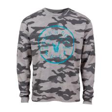 Loaded Mens - RNR herre langærmet t-shirt +Size - Grå