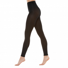 Vogue - Dame leggings 80 den - Sort