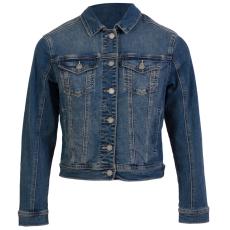ZUPPLY - Jennie +Size dame denim jakke stretch - Blå