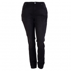 ZUPPLY - Rose +Size dame jeans stretch - Sort