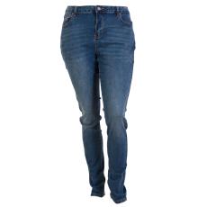 ZUPPLY - Rose +Size dame jeans stretch - Blå