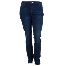 ZUPPLY - Rose +Size dame jeans stretch - Mørkeblå