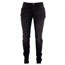 ZUPPLY - Mary +Size dame jeans stretch - Sort