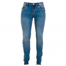 ZUPPLY - Mary +Size dame jeans stretch - Blå
