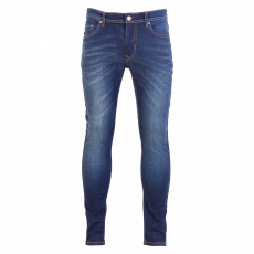 Marcus - Brice herre jeans - slim fit - Mørkeblå