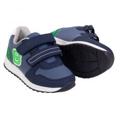 Ølholm - Drenge sneakers m. velcro - Blå