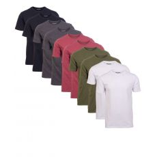 Denim project - 10-pak T-shirt Herre - Sort