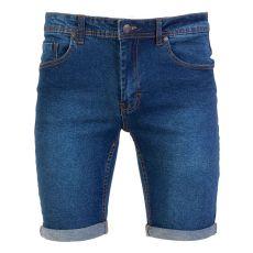 Denim Week - Herre shorts - Mørkeblå