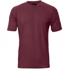 ID - Herre t-shirt - Bordeaux